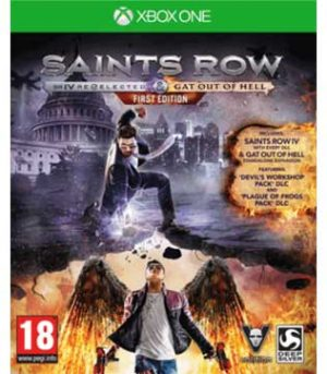 Saints Row IV: Re-Elected & Gat out of Hell Xbox One