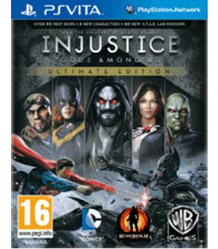 PS Vita-Injustice: Gods Among Us Ultimate Edition