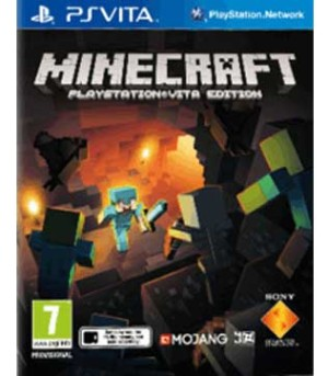 PS Vita-Minecraft: PlayStation Vita Edition