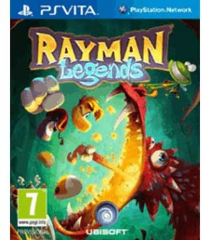 PS Vita-Rayman Legends