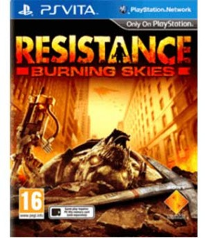 PS Vita-Resistance: Burning Skies