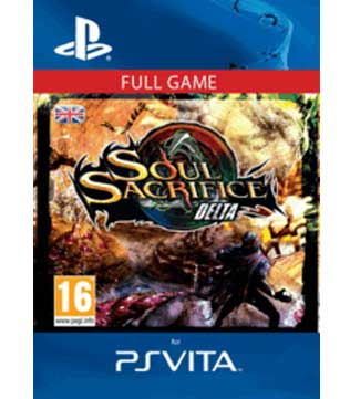 PS Vita-Soul Sacrifice Delta