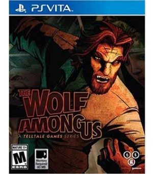PS Vita-The Wolf Among Us