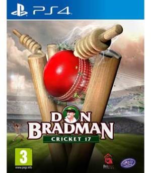 PS4-Don Bradman Cricket 17