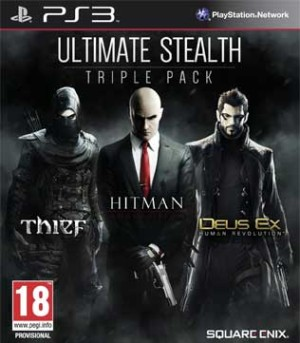 PS3-Ultimate Stealth Triple Pack (Thief, Hitman Absolution & Deus Ex Human Revolution)