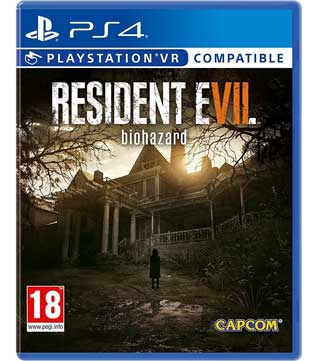 PS4-Resident Evil 7 Biohazard