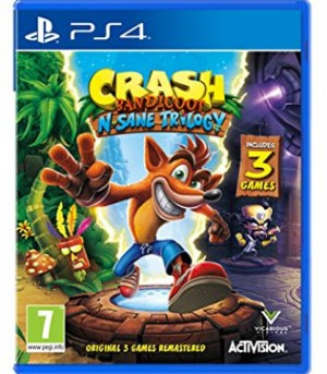 PS4-Crash Bandicoot N Sane Trilogy