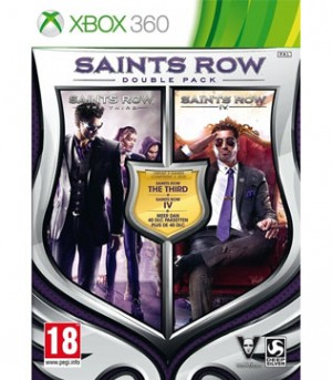 Xbox 360-Saints Row 3 & 4 Double Pack