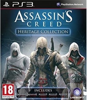 PS3-Assassins Creed Heritage Collection