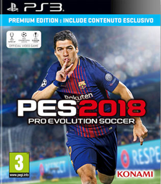 PS3-Pro Evolution Soccer 2018