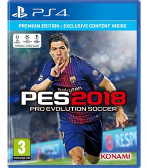 PS4-Pro Evolution Soccer 2018