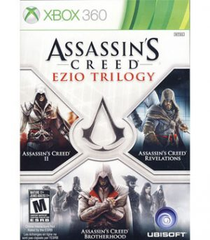 Xbox 360-Assassins Creed Ezio Trilogy