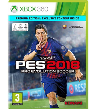 Xbox 360-Pro Evolution Soccer 2018