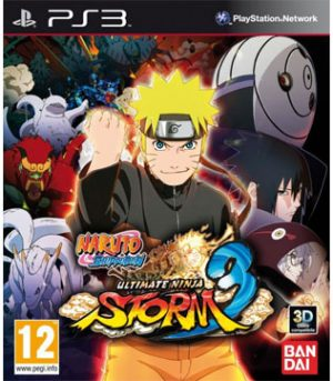 PS3-Naruto Shippuden Ultimate Ninja Storm 3
