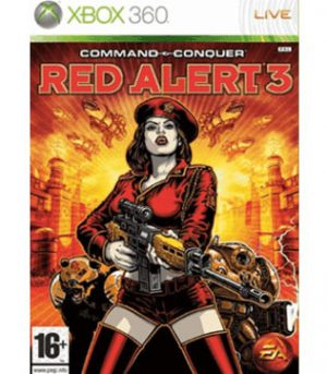 Xbox 360-Command & Conquer Red Alert 3