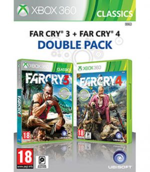 Xbox 360-Far Cry 3 & Far Cry 4 Double Pack