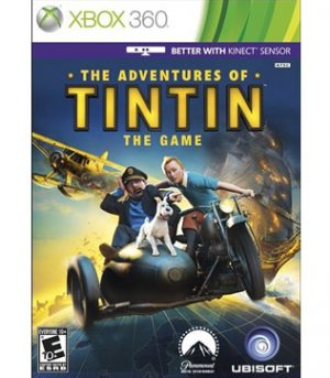 Xbox 360-The Adventures of Tintin The Game-Pre-owned
