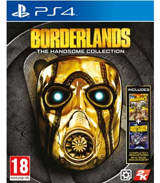 Borderlands: The Handsome Collection (Borderlands 2, Borderlands: The Pre-Sequel!) PS4
