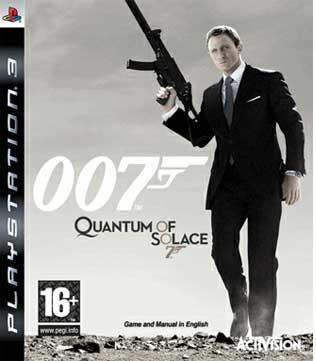 007: Quantum of Solace PS3