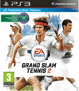 Grand Slam Tennis 2 PS3