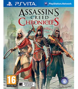 PS Vita-Assassin's Creed Chronicles Trilogy Pack