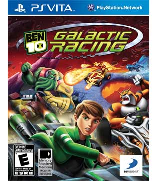 PS Vita-Ben 10: Galactic Racing