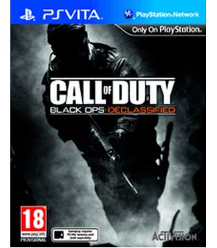 PS Vita-Call of Duty: Black Ops: Declassified