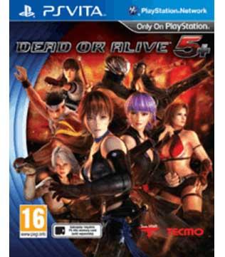 PS Vita-Dead or Alive 5 Plus