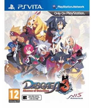 PS Vita-Disgaea 3: Absence of Detention