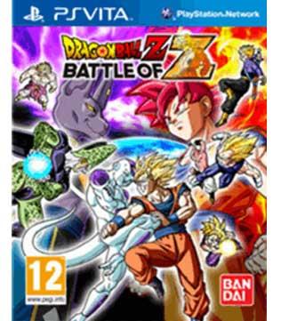 PS Vita-Dragon Ball Z: Battle of Z