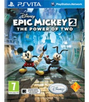 PS Vita-Epic Mickey 2: The Power of Two