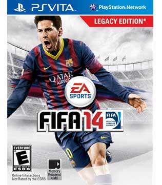 PS Vita-FIFA 14: Legacy Edition