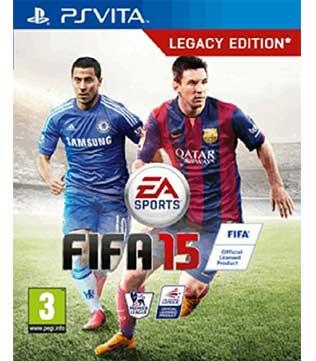 PS Vita-FIFA 15: Legacy Edition