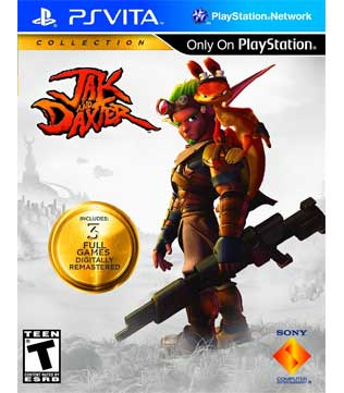 PS Vita-Jak and Daxter Collection