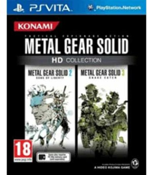 PS Vita-Metal Gear Solid HD Collection