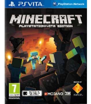 PS Vita-Minecraft: PlayStation Vita Edition