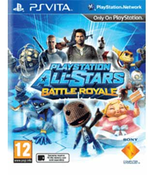 PS Vita-PlayStation All-Stars Battle Royale