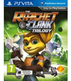 PS Vita-Ratchet & Clank Trilogy