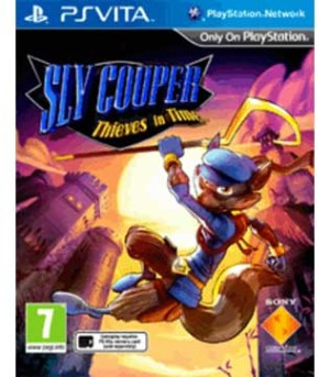 PS Vita-Sly Cooper: Thieves in Time