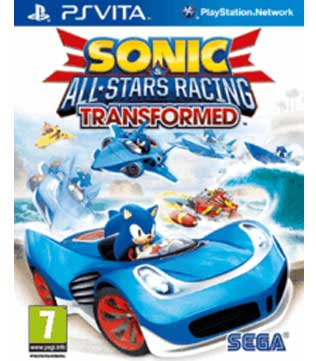 PS Vita-Sonic & All-Stars Racing Transformed