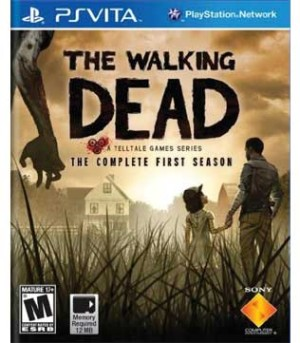 PS Vita-The Walking Dead
