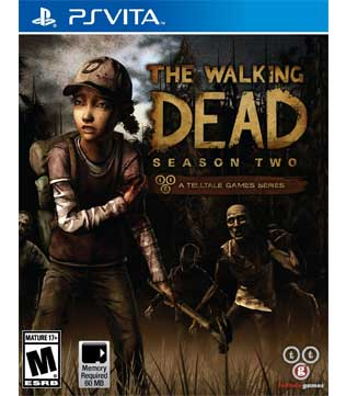 PS Vita-The Walking Dead: Season Two