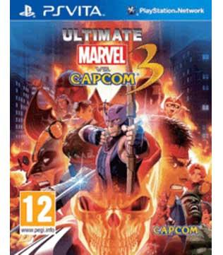 PS Vita-Ultimate Marvel vs. Capcom 3