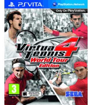 PS Vita-Virtua Tennis 4: World Tour Edition
