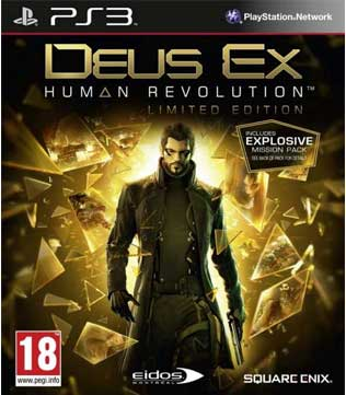 PS3-Deus Ex: Human Revolution - Limited Edition