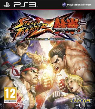 PS3-Street Fighter X Tekken