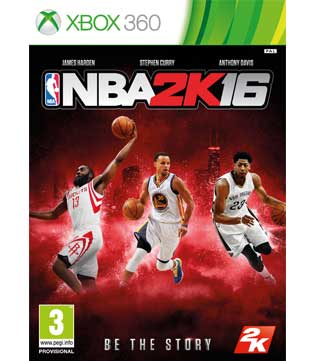 Xbox 360-NBA 2K16