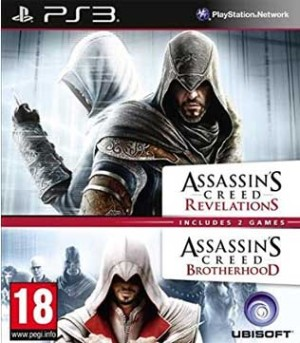 PS3-Assassins Creed Revelations & Brotherhood