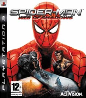 PS3-SpiderMan: Web of Shadows
