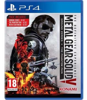 PS4-Metal Gear Solid V: The Phantom Pain - Definitive Experience
